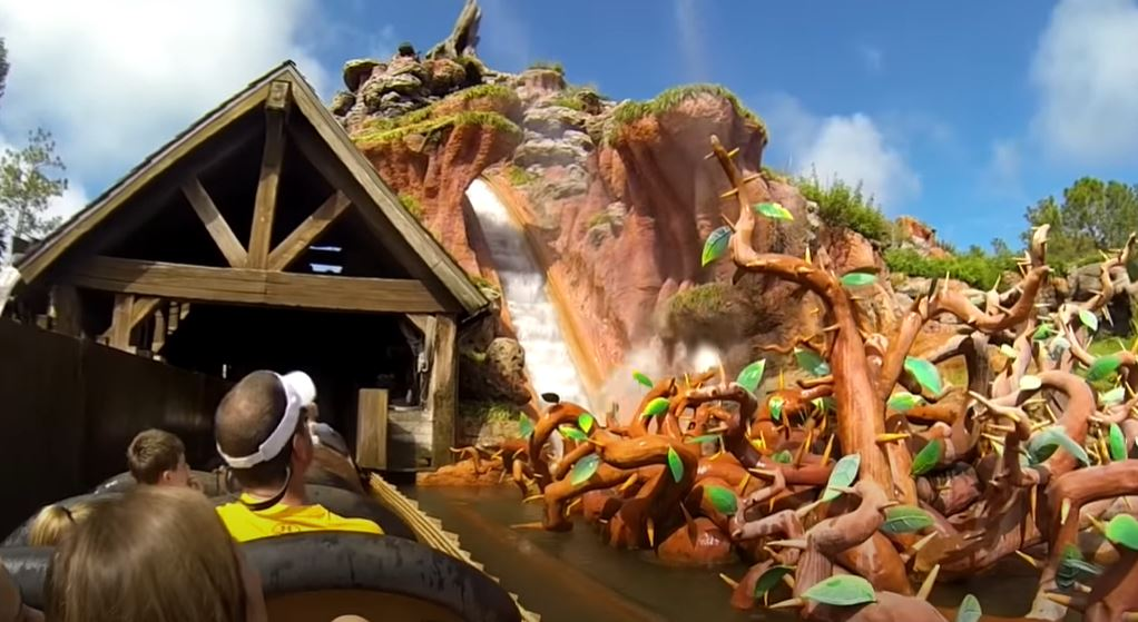 Disney World S Splash Mountain To Be Re Themed As Princess And